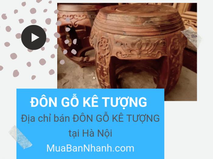 Địa chỉ bán đôn gỗ để tượng Phật, kê tượng giá rẻ Hà Nội