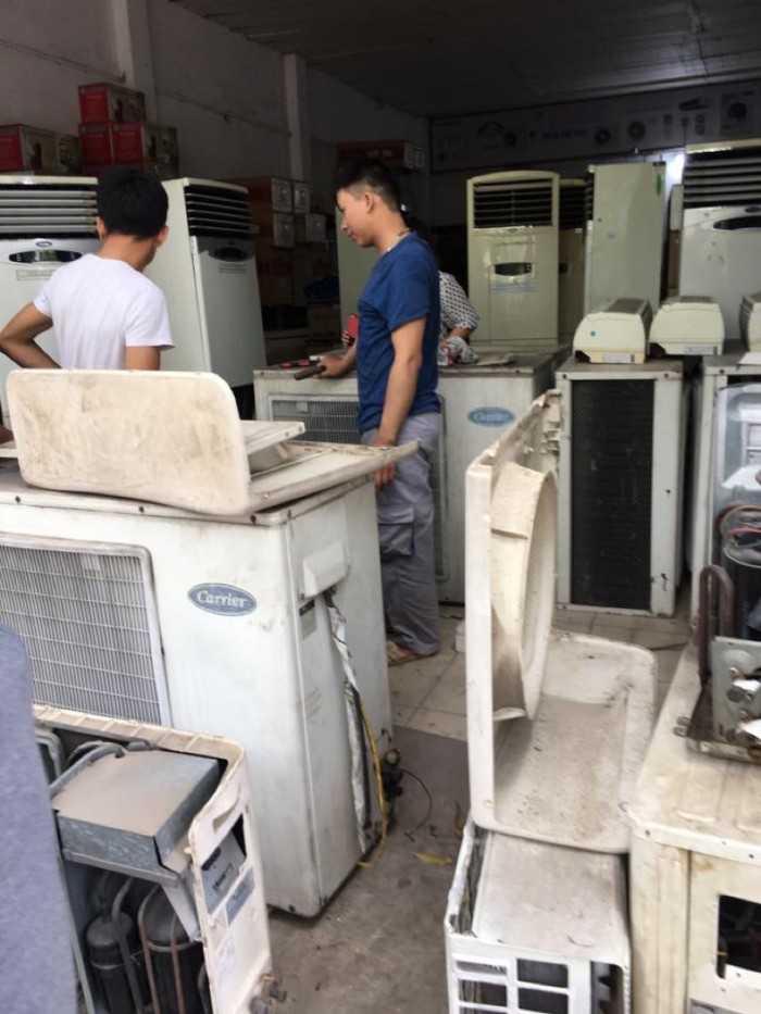 Thu mua máy lạnh, thanh lý máy lạnh, máy điều hòa cũ giá cao tại Hà Nội