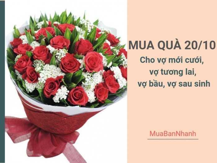 Mua quà 20/10 cho vợ mới cưới, vợ tương lai, vợ bầu, vợ sau sinh - Quà tặng vợ 20/10