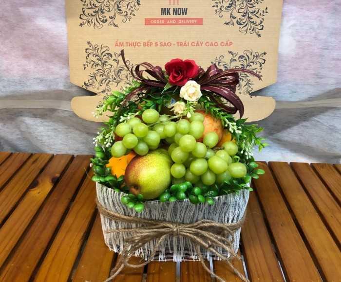 Hamper trái cây quà tặng cô giáo mầm non trường quốc tế
