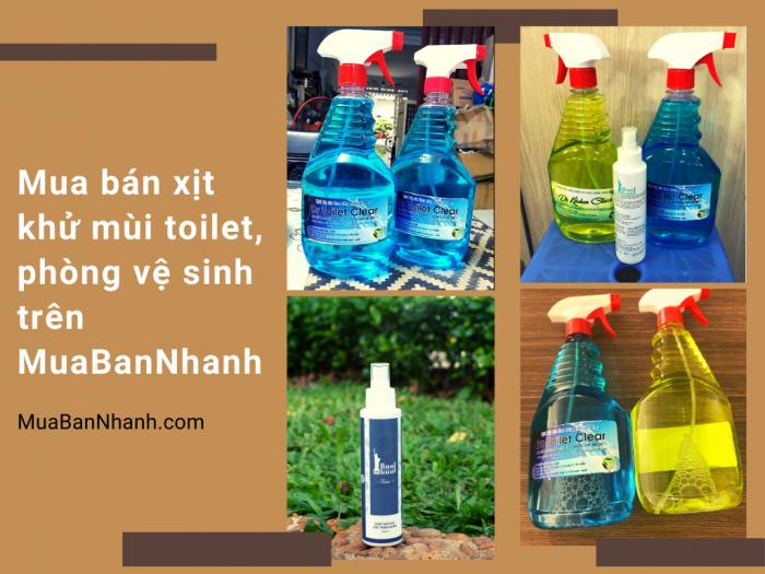 Mua bán xịt khử mùi toilet, phòng vệ sinh trên MuaBanNhanh