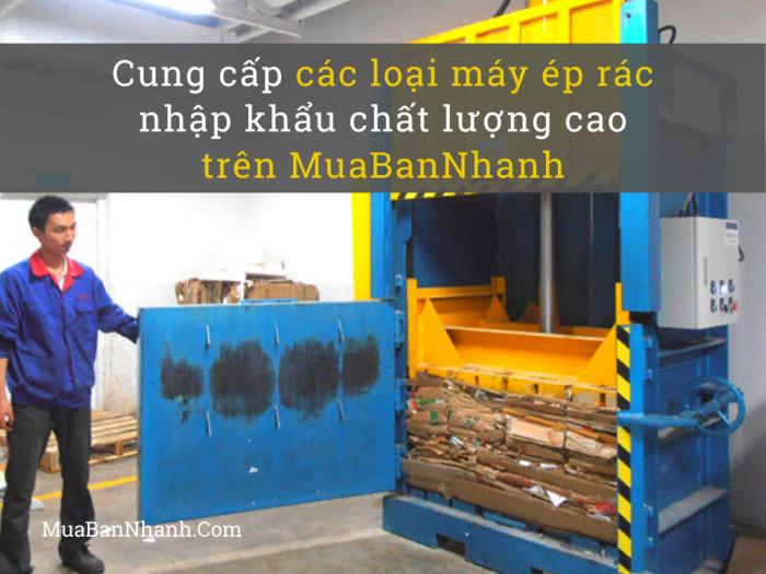 Giá các loại máy ép rác nhập khẩu chất lượng cao trên MuaBanNhanh
