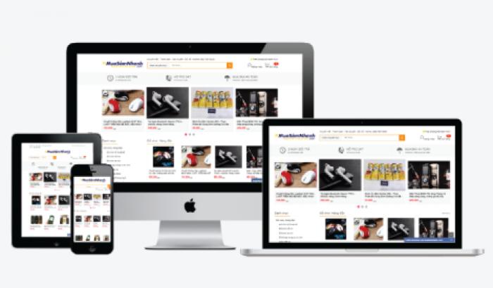 Thiết kế web thương mại điện tử MuaBanNhanh