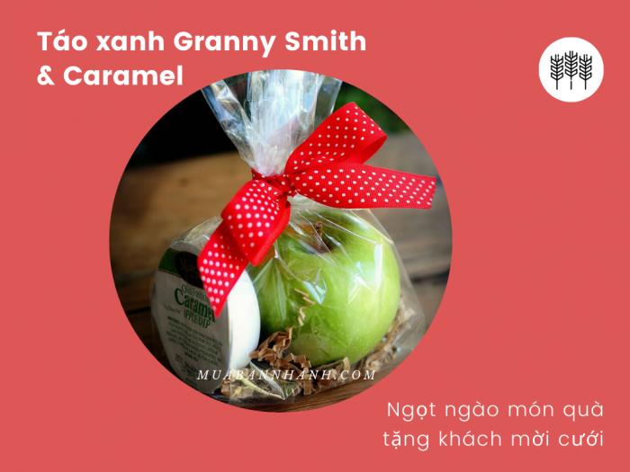 Táo xanh Granny Smith & Caramel - Ngọt ngào món quà tặng khách mời cưới