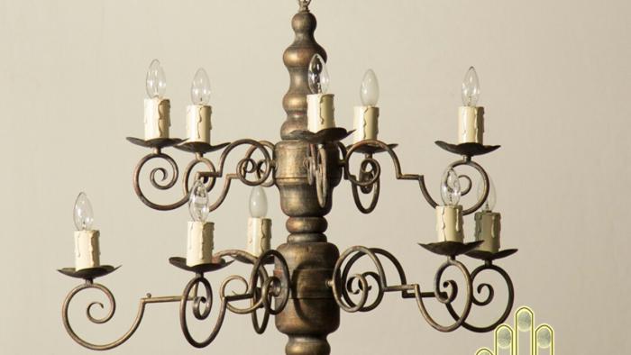 Đèn chùm cổ điển Bắc Âu