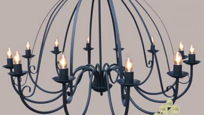 Đèn chùm phong cách cổ điển