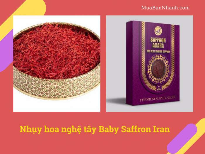 Nhụy hoa nghệ tây Adaha Saffron Iran