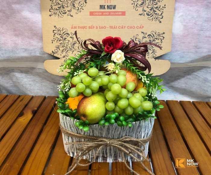 quà trái cây valentine