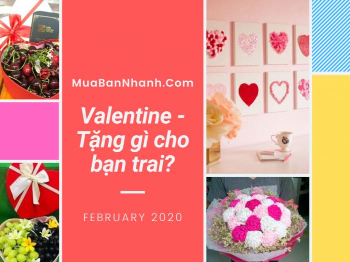 Nên tặng quà Valentine gì cho bạn trai?