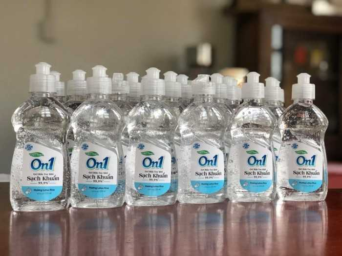 Nước rửa tay khô an toàn cho bé - MuaBanNhanh