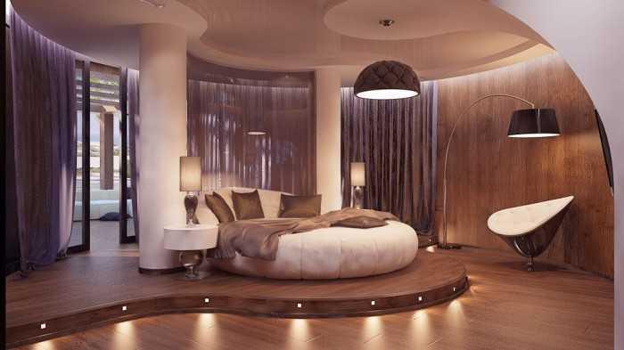 giường tròn cổ điển