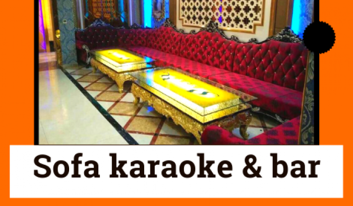Sofa quán karaoke bar