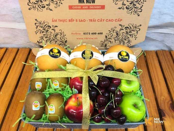 hộp quà trái cây tặng y bác sĩ