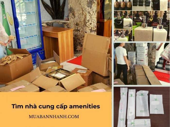 Tìm nhà cung cấp Amenities giá sỉ số lượng lớn cho khách sạn, homestay, motel chuẩn bị khai trương