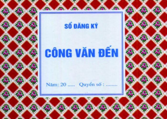 Sổ công văn mới nhất - MuaBanNhanh