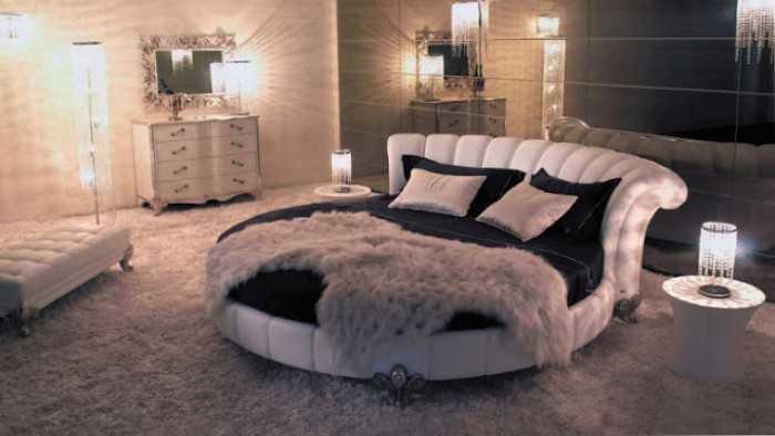 Giường tròn sang trọng - MuaBanNhanh