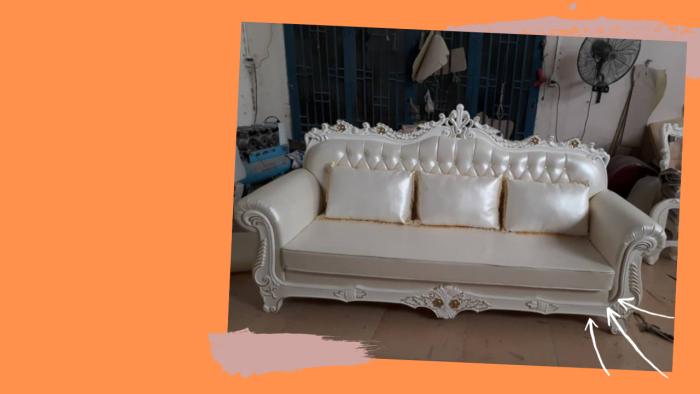 Ghế băng cổ điển phong cách Hoàng Gia