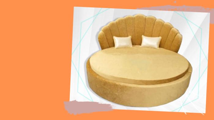 Giường ngủ tròn Ngọc Trai siêu dễ thương