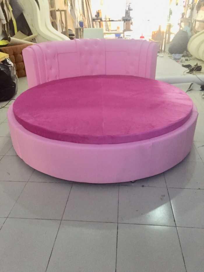 Giường tròn thiết kế Style công chúa