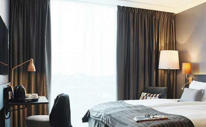 Các mẫu rèm cửa khách sạn đẹp hiện đại cao cấp sang trọng