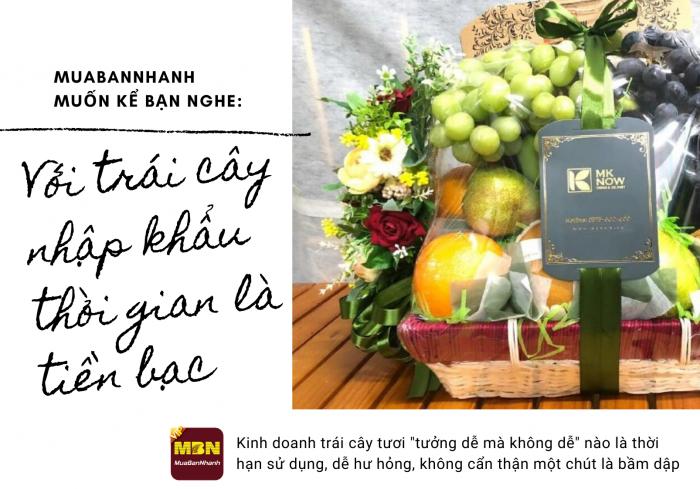 Bỏ lương khủng tại Úc 8X khởi nghiệp kinh doanh ẩm thực, giỏ trái cây nhập khẩu làm quà tặng sức khỏe