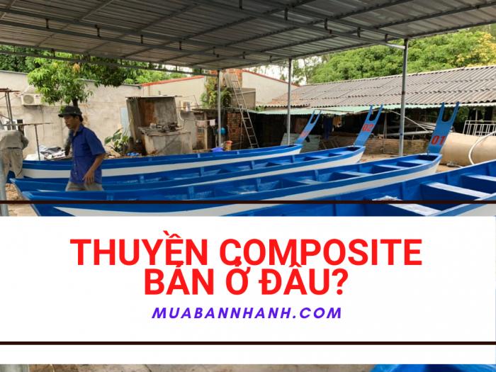 Thuyền composite bán ở đâu? Mua bán thuyền Composite gắn máy, chèo tay tại Hà Nội