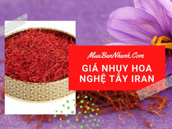 Nhụy hoa nghệ tây Iran giá bao nhiêu? Bán ở đâu, có tác dụng gì, sử dụng như thế nào?