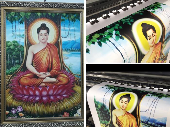 Công ty in tranh Phật giáo