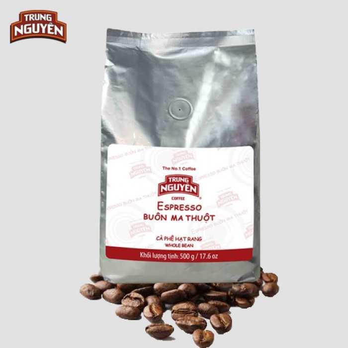 hạt cà phê Trung Nguyên
