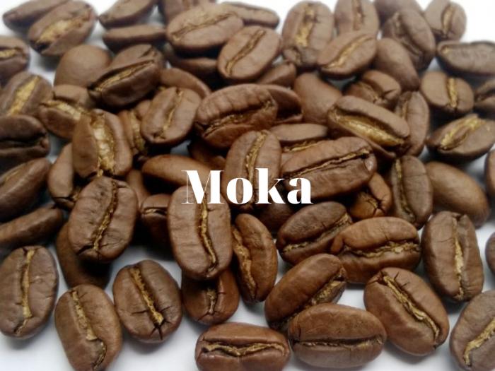 hạt cà phê moka