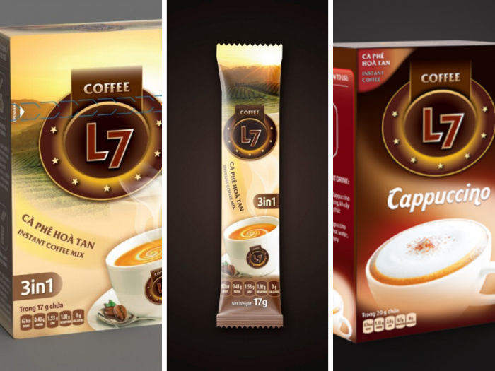 Nguồn hàng giá sỉ cà phê hòa tan Cappuccino gói giỏ quà Tết Tân Sửu