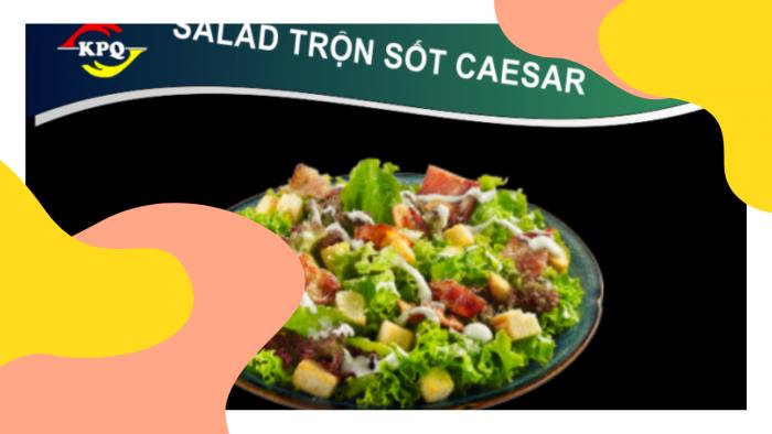 Salad Trộn Sốt Caesar - Size Lớn