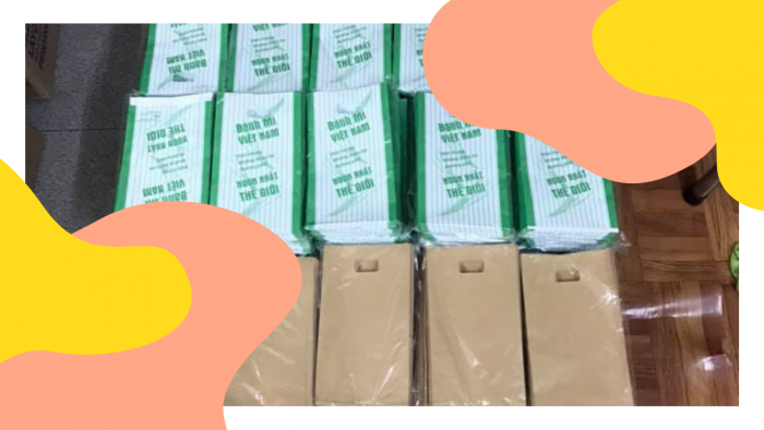 Túi giấy bánh mì