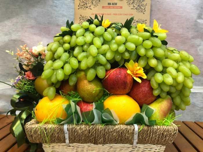 Giỏ trái cây mừng thọ MKnow
