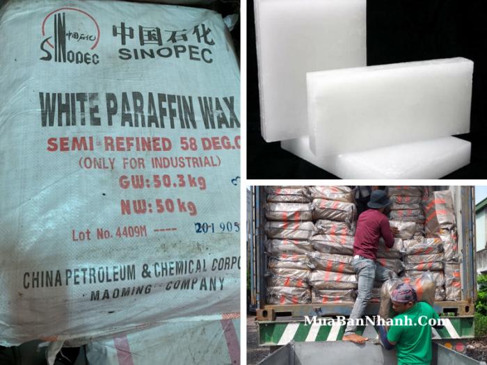 Sáp Paraffin dùng làm gì, giá bao nhiêu? Địa chỉ bán sáp Paraffin TPHCM