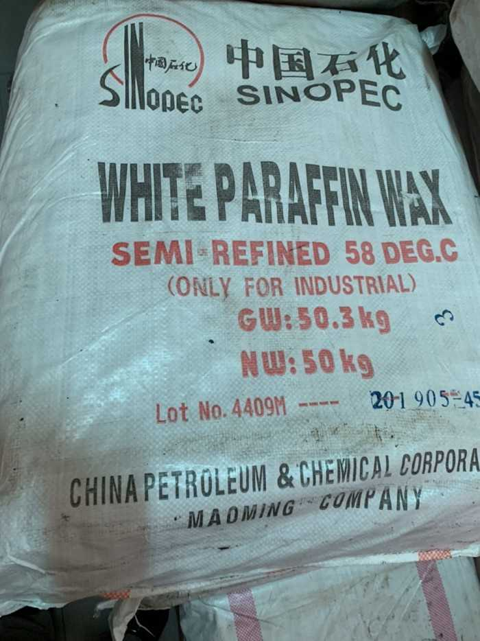 sáp paraffin công nghiệp
