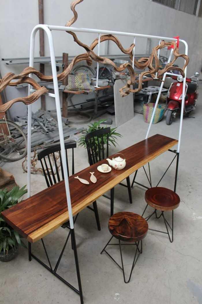 Mặt bàn gỗ phủ keo Epoxy tuyệt đẹp - MuaBanNhanh