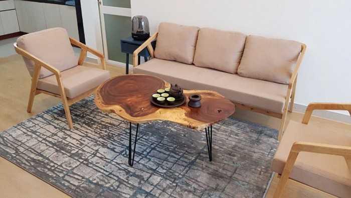 Mẫn bàn ghế gỗ đẹp sang trọng - MuaBanNhanh
