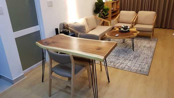 Những mẫu mặt bàn ghế gỗ đẹp sang trọng - MuaBanNhanh