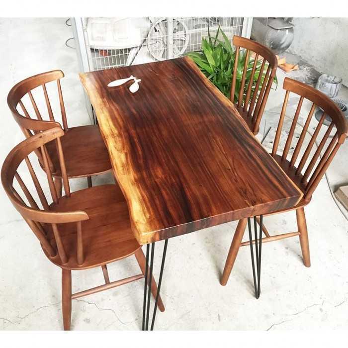 Set up bàn gỗ chất lừ cho không gian - MuaBanNhanh