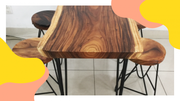 Bộ bàn tự nhiên 04