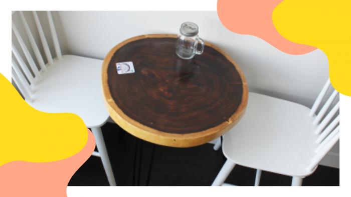 Bộ bàn tròn 4