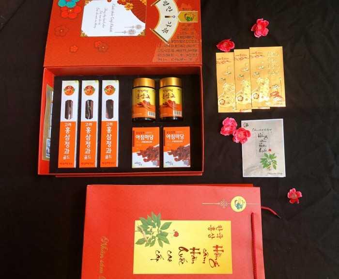 Hộp quà sâm Hàn Quốc - Mang sức khỏe đến gia đình bạn