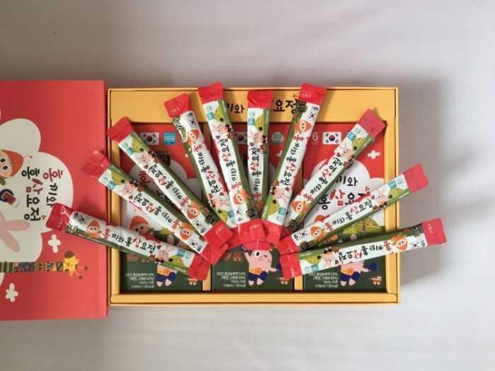 Hộp quà Hàn Quốc cho bé - Quà tặng cho bé các dịp Trung Thu, Quốc tế Thiếu nhi 1/6, sinh nhật, bé vào lớp 1, Giáng sinh Noel