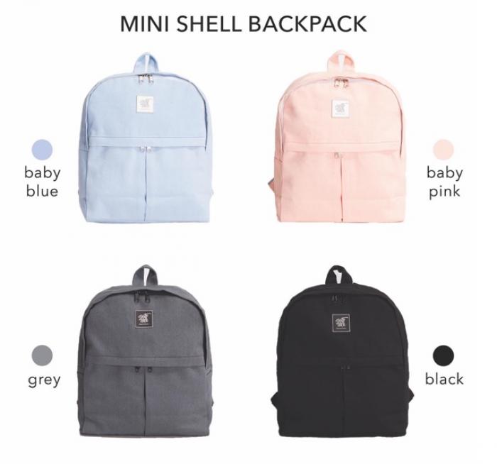 Balo Tote Talk tươi trẻ cùng Mini Shell Backpack