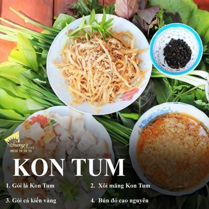 Đặc sản Kon Tum