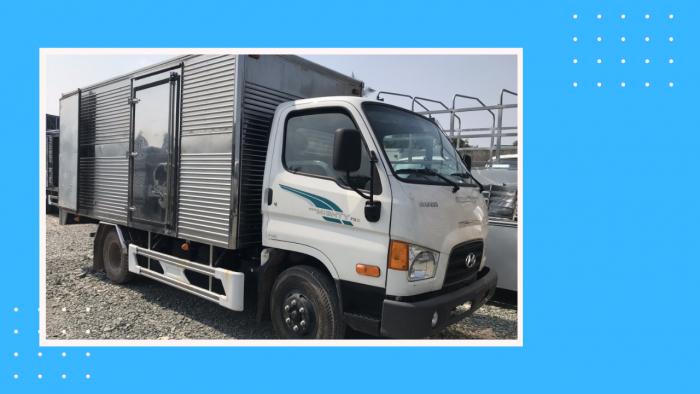 Xe tải 3t5 Hyundai 3.5 tấn 75S thùng kín