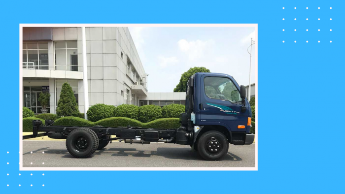 Xe tải 7t Hyundai New Mighty 110S 7 tấn thùng lửng