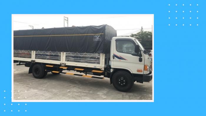 Xe tải 8t Hyundai HD120SL đô thành 8 tấn thùng dài 6m2
