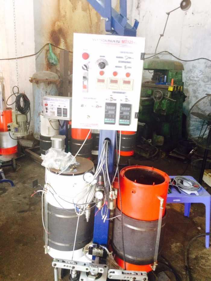 Bán máy phun Foam PU - Máy Phun Foam Thành Công tại Hà Nội